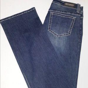 Shyanne boot cut blue jeans